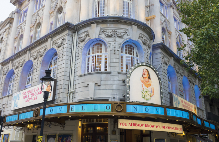 The Novello Theatre, above which Cameron Mackintosh is planning to build a five-bedroom penthouse apartment. Photo: Shutterstock