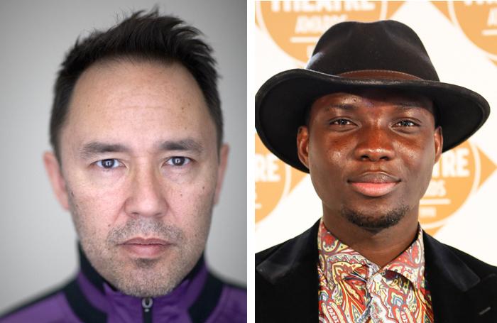 Equity's minority ethnic members committee members Daniel York and Emmanuel Kojo