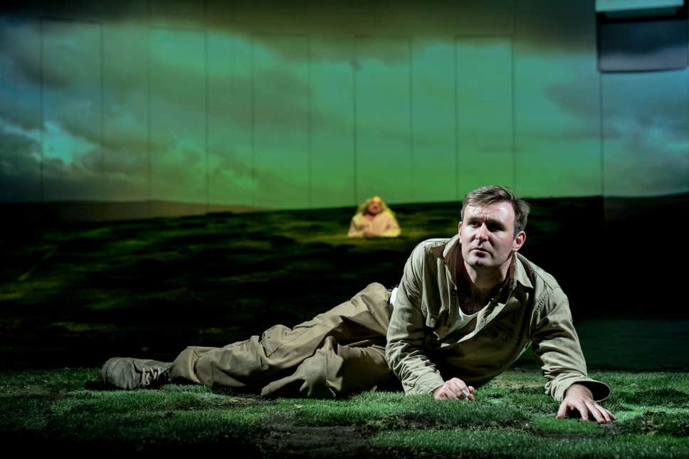James McArdle in Peter Gynt at National Theatre, London. Photo: Manuel Harlan