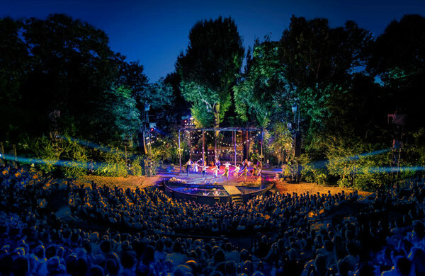 The Green Room: How does open-air theatre make your job different?