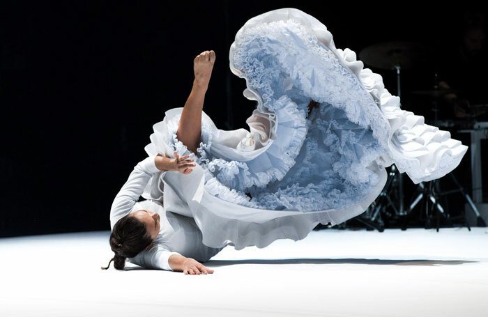 Rocío Molina in Fallen from heaven at Sadler's Wells. Photo:  Simone Fratini