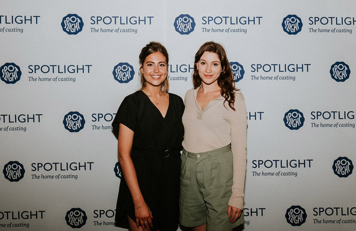Rhiannon Clements (left) and Lucy Reynolds (right). Photo: Joanna Nicole