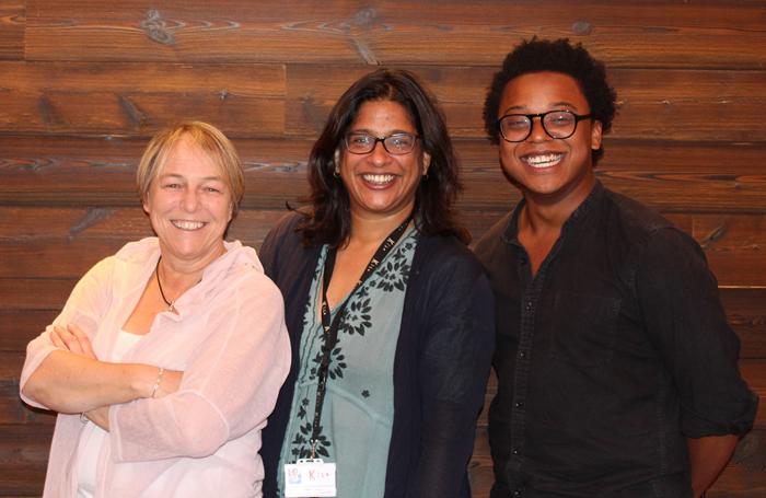 Susie McKenna, Indhu Rubasingham and Taio Lawson