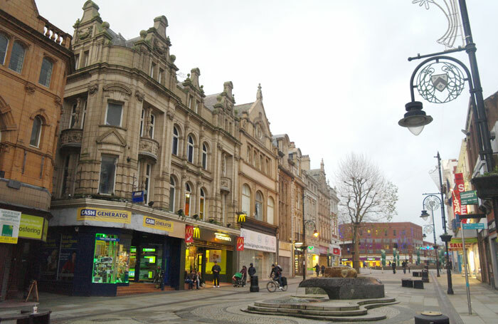 Upper Bridge Street, Warrington. Plans for a new theatre in the town have now been shelved