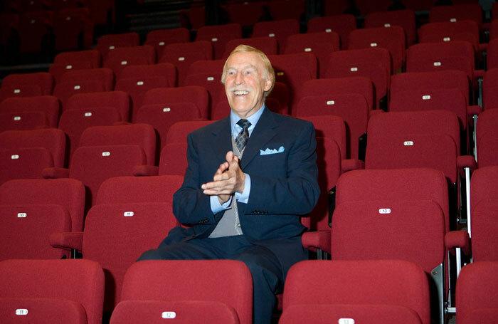 Bruce Forsyth – Jac Yarrow's good luck charm. Photo: Robert Workman
