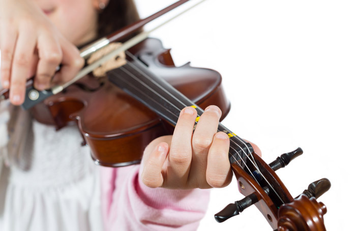 """The Social Mobility Commission study found """"huge disparities"""" in participation rates in extra-curricular activities, including drama, dance and music, depending on social background. Photo: Shutterstock"""