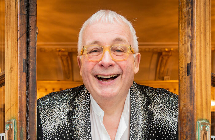 Christopher Biggins, appearing in Late Lunch With Biggins at the Pleasance Dome, Edinburgh