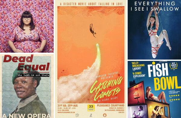 Poster design competition at Edinburgh Fringe names inaugural winner