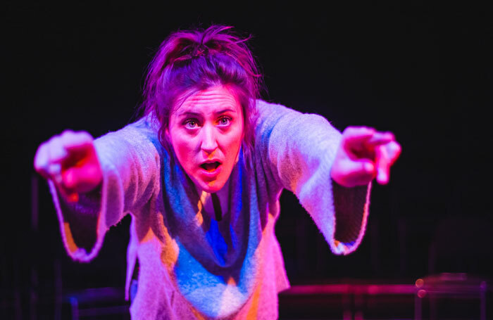 Laura Dalgleish in How To Be Brave at Roundabout, Summerhall, Edinburgh. Photo: Kirsten McTernan