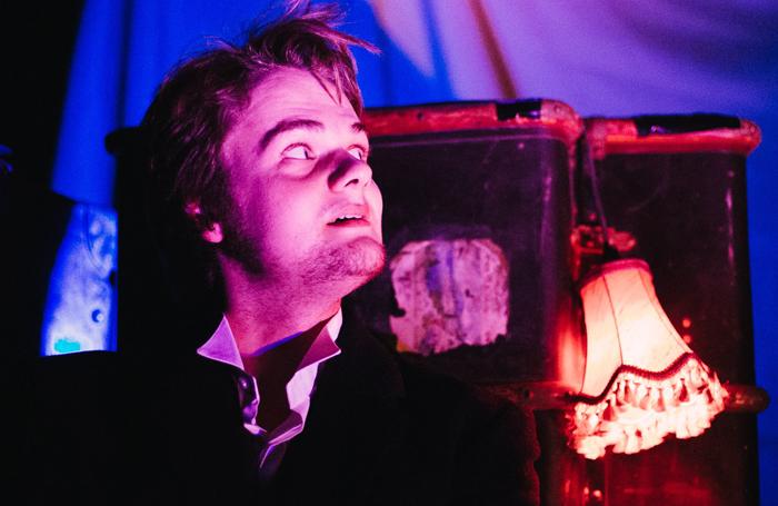 Michael Tonkin-Jones in Hyde and Seek. Photo: Neal Megaw