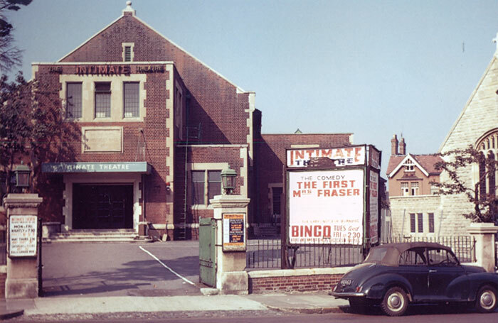The Intimate Theatre in Palmers Green, north London, pictured in 1966