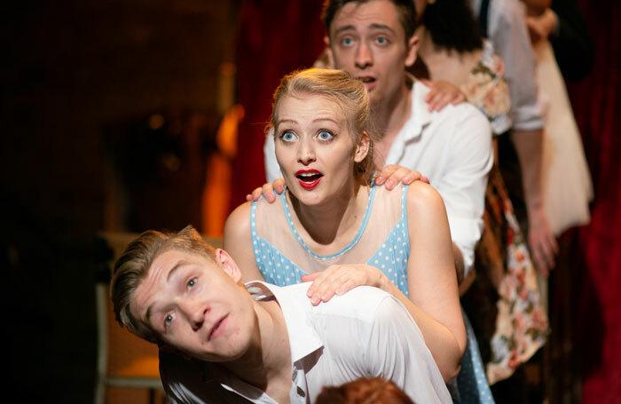 Scene from Showtune at Union Theatre, London. Photo: Jamie Scott-Smith