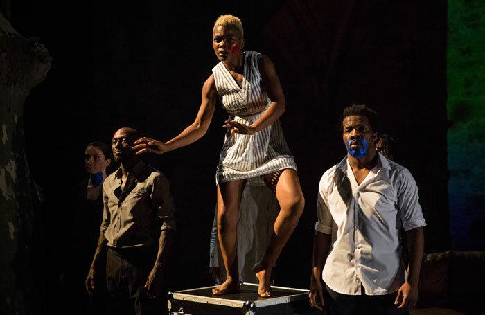 The cast of Kalakuta Republik at Royal Lyceum Theatre, Edinburgh. Photo: Sophie Garcia