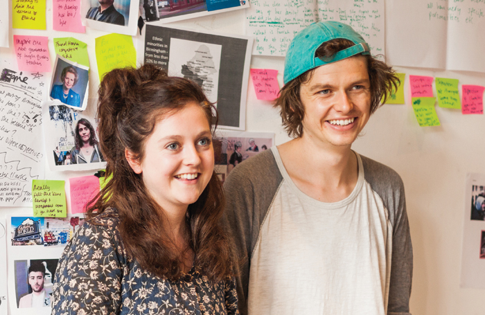 Lung co-directors Helen Monks and Matt Woodhead