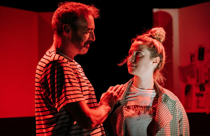 Alan McHugh and Sarah Swire in If You're Feeling Sinister at Gilded Balloon, Edinburgh. Photo: Mihaela Bodlovic