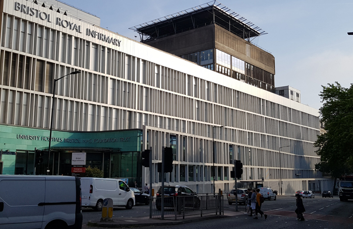 Bristol Royal Infirmary. Photo: Nick Bell/Wikimedia Commons