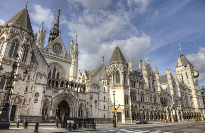 Royal Courts of Justice in London. Photo: Shutterstock