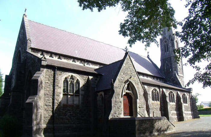 St Mary's Church in Bangor, the current home of Frân Wen, which plans to relocate to a new purpose-built £3.2 million arts centre