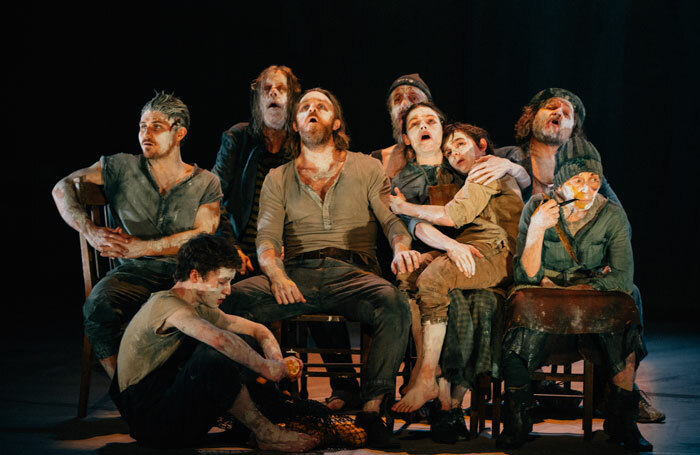 Cast of The Secret River at the King's Theatre as part of the Edinburgh International Festival. Photo: Ryan Buchanan