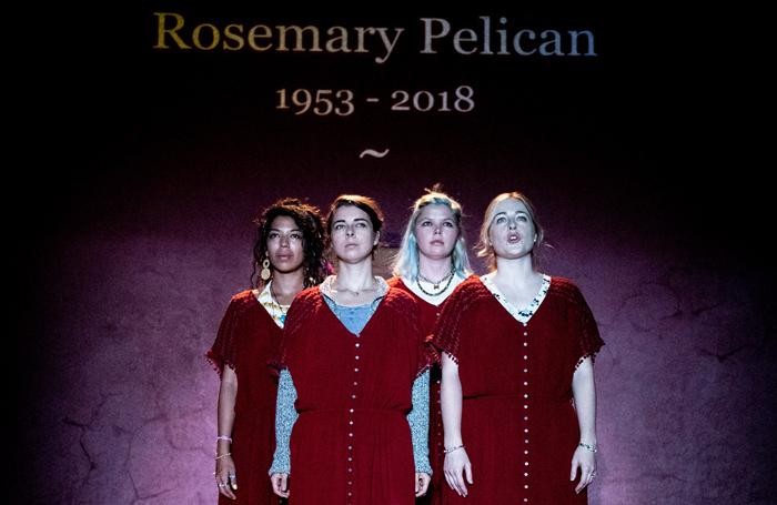 The Wardrobe Ensemble's The Last of the Pelican Daughters. Photo: Graeme Braidwood