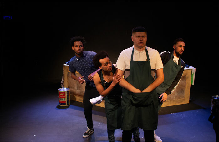 The cast of Pizza Shop Heroes