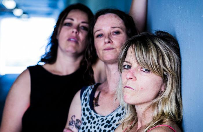 The cast of Shit at Summerhall, Edinburgh. Photo: Sebastian Bourges