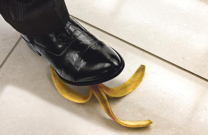 Does the banana-skin scenario hold the key to comedy? Photo: Shutterstock