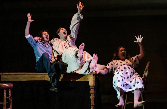 Theatre Re's Birth at Pleasance Courtyard, Edinburgh