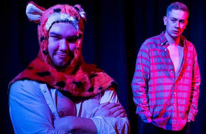 Bradley Curran and Harry Franklin in Adventures of Butt Boy and Tigger