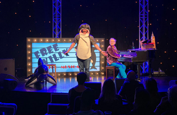 West End Producer - Free Willy featuring The Stage critic Paul Vale at Assembly Checkpoint, Edinburgh