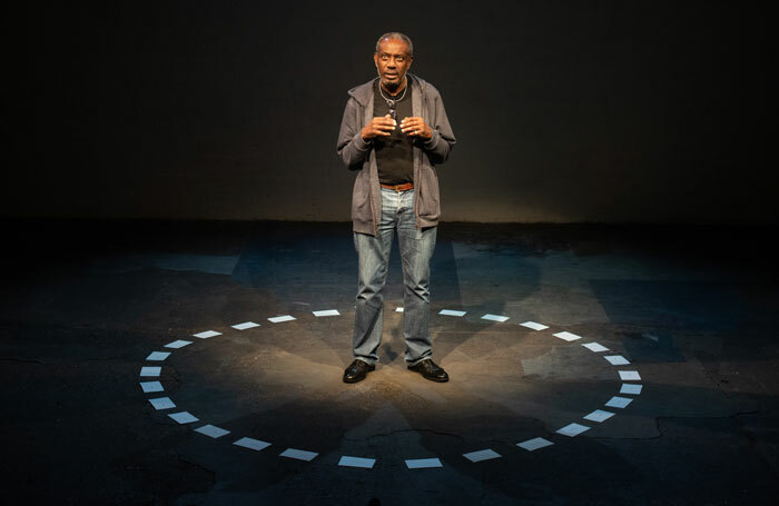Tyrone Huggins in To Move in Time at Summerhall, Edinburgh