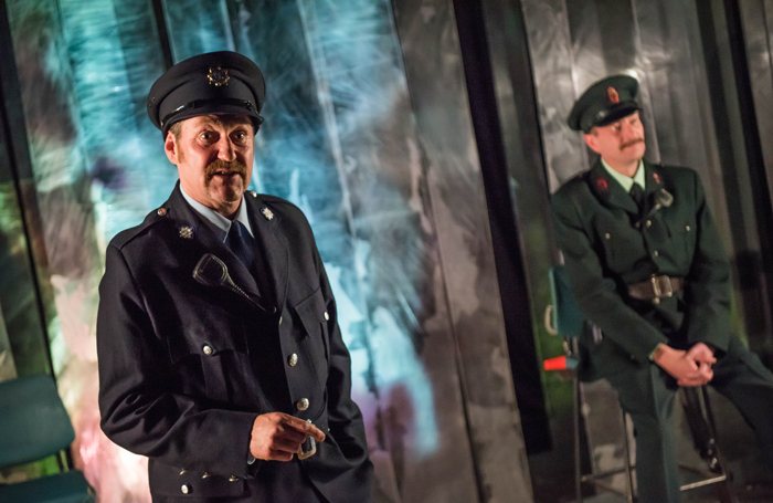 James Doran and Vincent Higgins in Kabosh Theatre's Green and Blue
