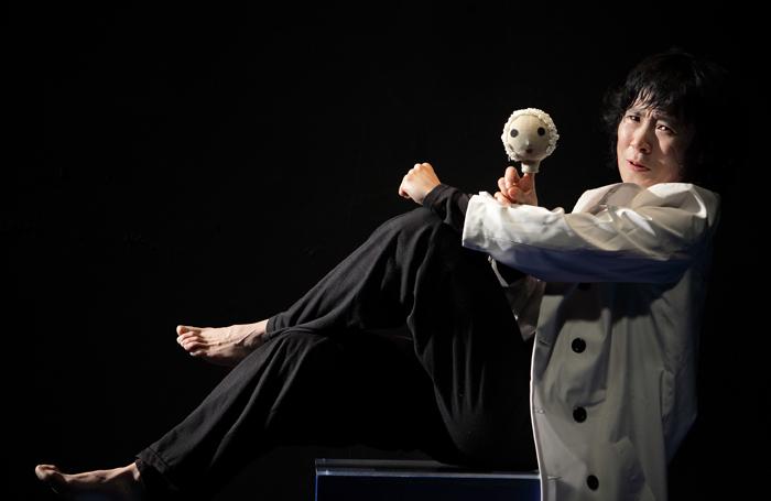 Lee Sang-hee in Cho-in Theatre's Macbeth. Photo: Min Jo