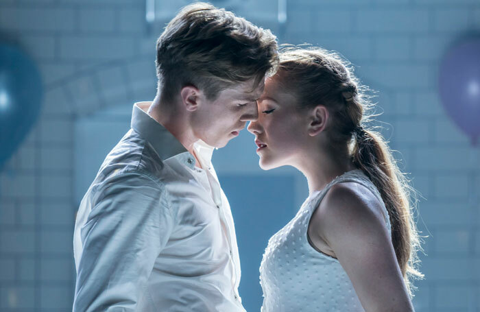 Andrew Monaghan and  Seren Williams in Matthew Bourne's Romeo and Juliet. Photo: Johan Persson
