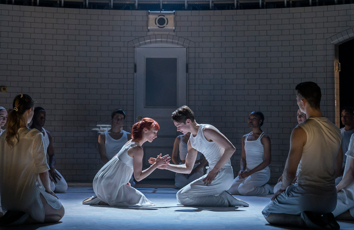 Cordelia Braithwaite and Paris Fitzpatrick in Matthew Bourne's Romeo and Juliet. Photo: Johan Persson