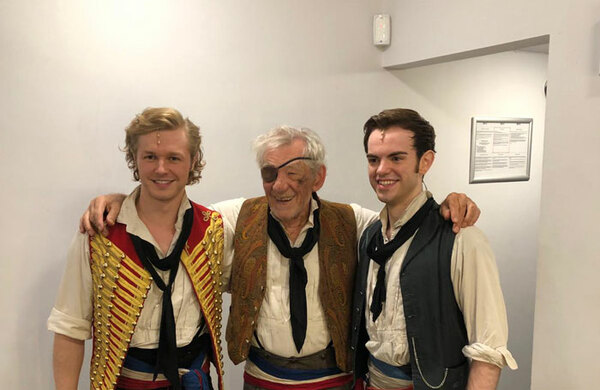 Ian McKellen makes surprise cameo in Les Misérables tour