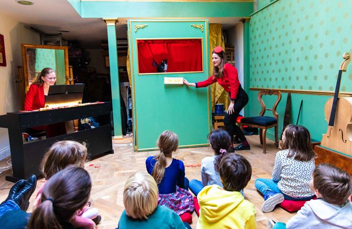 Zina Drouche's play Petit Pierre from Paris
