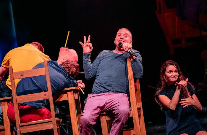 Purposeless Movements at Edinburgh International Festival. Photo: Mihaela Bodlovic