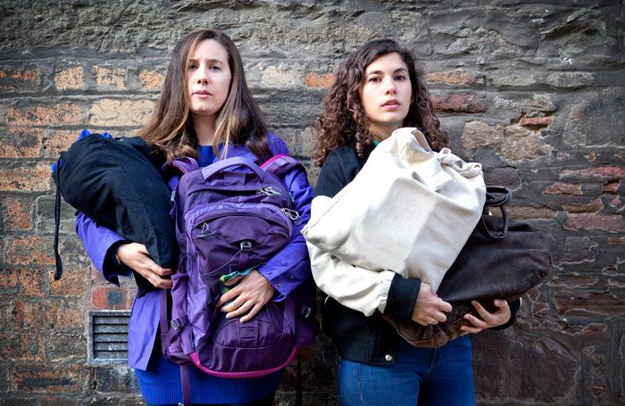 Jessica Phillippi and Elena Larios. Photo: Claire Fraser