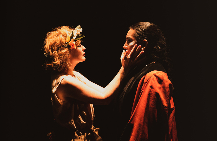 Hippolyte et Aricie at the Arcola Theatre, London. Photo: Andreas Grieger