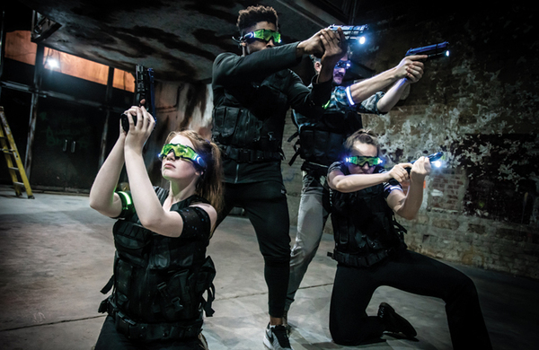 Space 18: the 'truly immersive' venue putting zombies in a West End office block