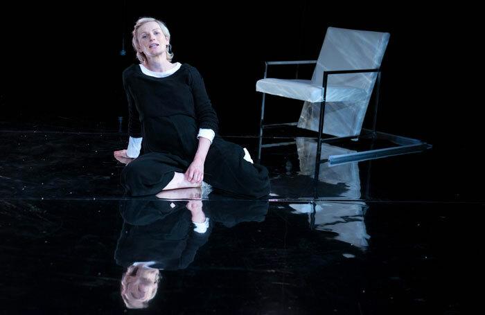 Hannah Daniel in For All I Care at Summerhall, Edinburgh. Photo: Glenn Edwards