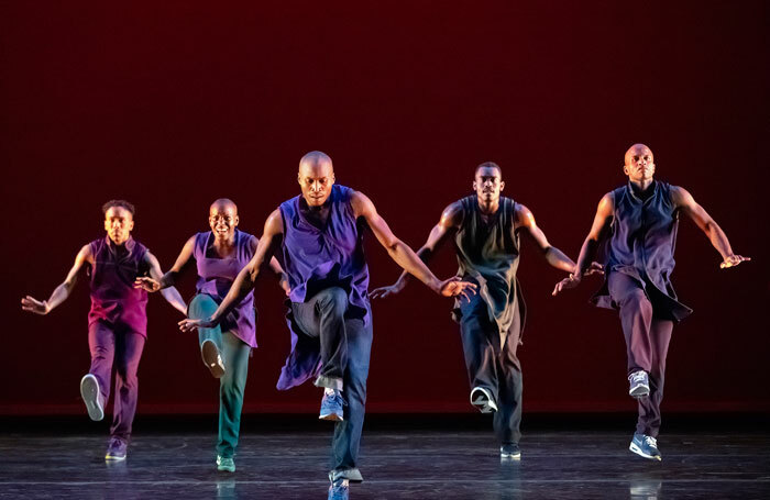 Alvin Ailey American Dance Theater's Lazarus at Sadler's Wells. Photo: Paul Kolnik