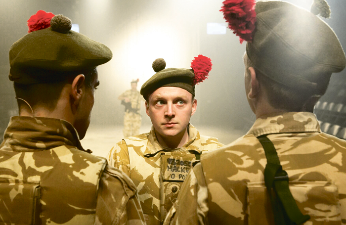 The National Theatre of Scotland's multi-award-winning hit Black Watch started life at the fringe. Photo: Manuel Harlan