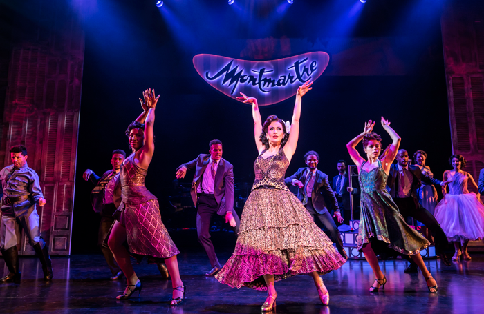 Madalena Alberto in On Your Feet!. Photo: Johan Persson