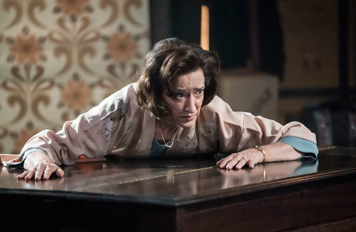 Haydn Gwynne in Hedda Tesman at Minerva Theatre, Chichester. Photo: Johan Persson