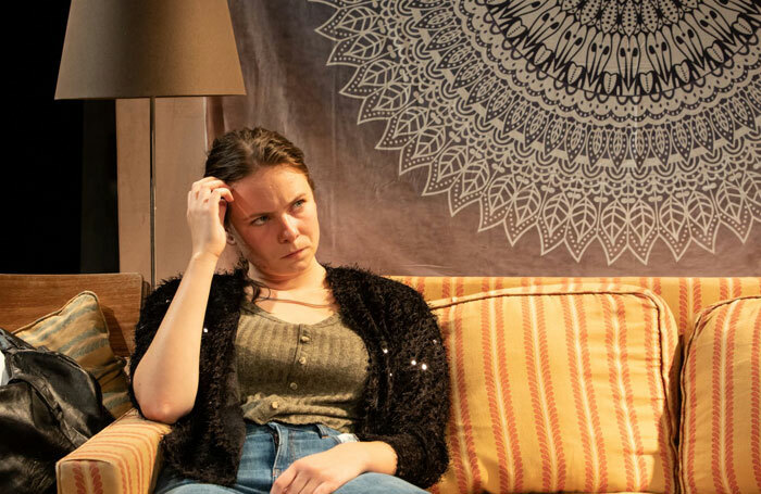 Larner Wallace-Taylor in How Love Is Spelt at Southwark Playhouse. Photo: Ali Wright