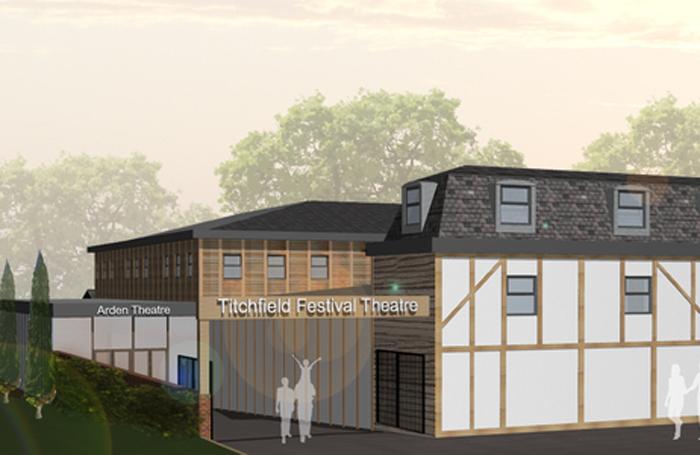 An artist's impression of Titchfield Festival Theatre's proposed New Arden Theatre