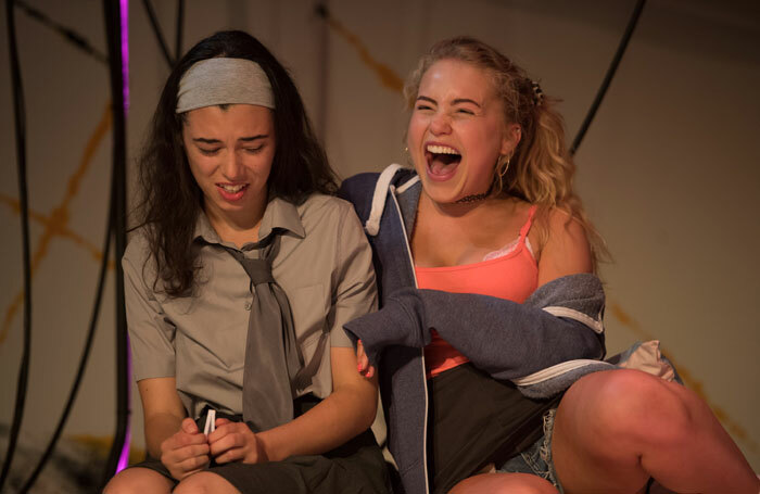 Tiger Cohen-Towell and Eve Austin in Lit at HighTide Festival. Photo: Craig Sugden
