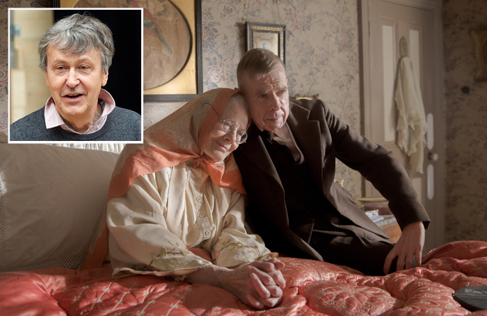 Vanessa Redgrave and Timothy Spall in Mrs Lowry & Son. Inset: Adrian Noble